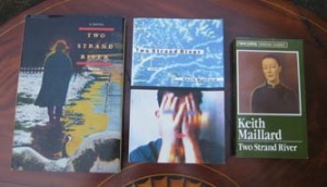 Two Stand River. Left to right: Press Porcépic, 1976; General Publishing (New Press Canadian Classics), 1982; HarperCollins (HarperPerennial), 1996.